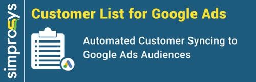 Customer List for Google Ads
